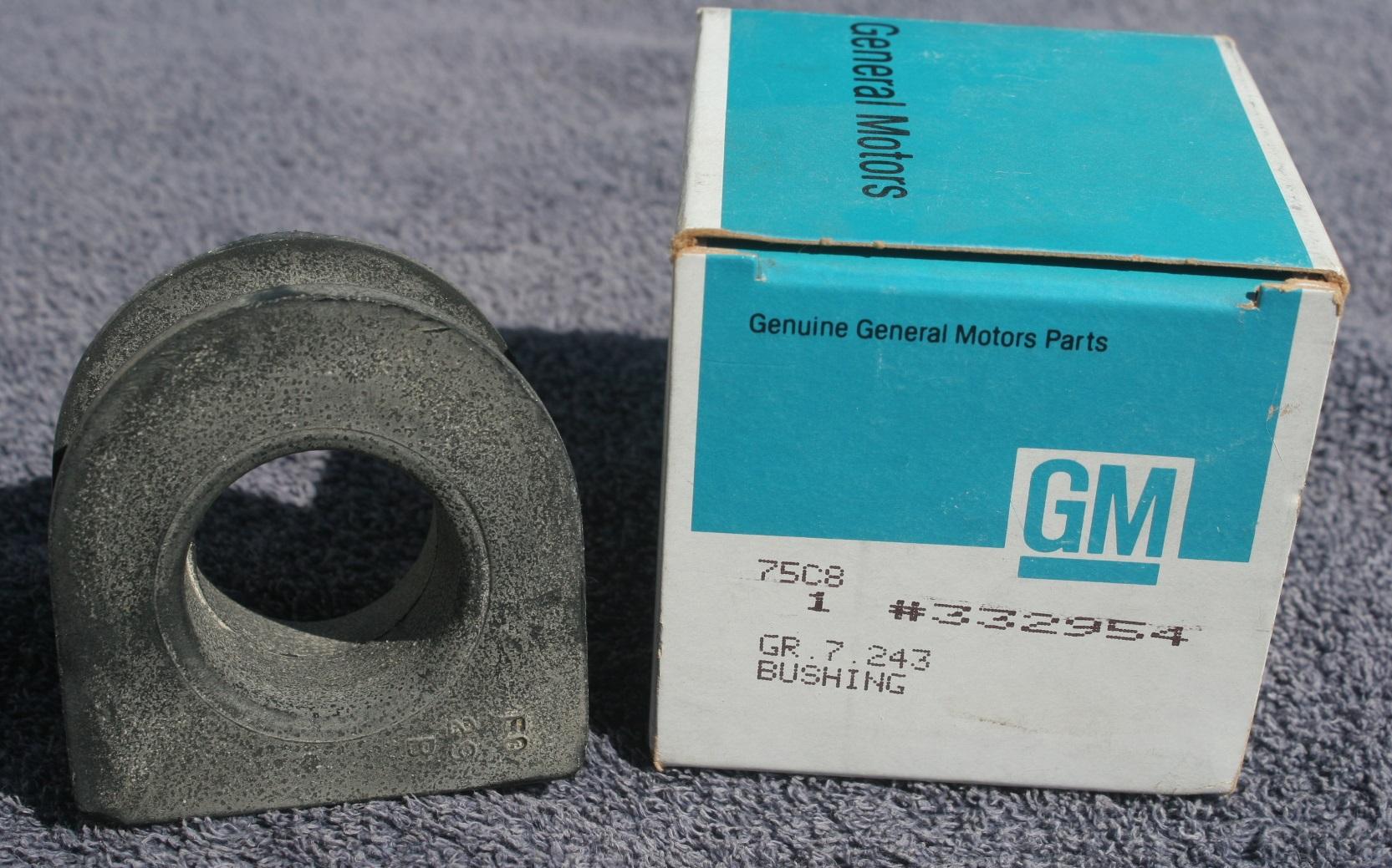 00332954, Bushing GM part
