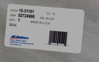 02724966 genuine OEM part.