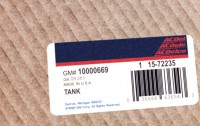10000669 genuine OEM part.