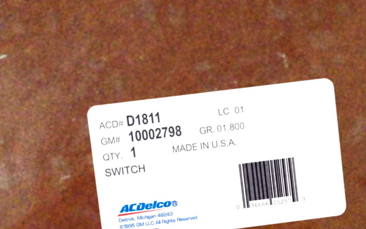 10002798, Switch GM part