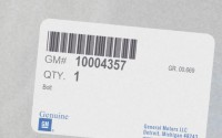 10004357 genuine OEM part.
