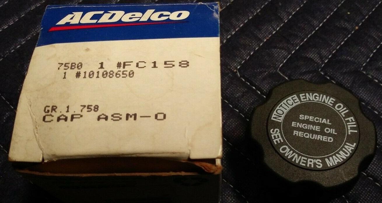 10108650, VALVE COVER, V8-305; Left 8 CYLINDER, GAS GM part