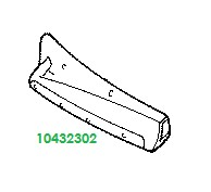 10432302 genuine OEM part.