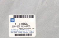 11088993 genuine OEM part.