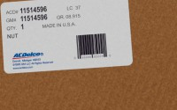 11514596 genuine OEM part.