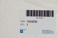 11516703 genuine OEM part.