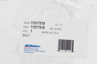 11517518 genuine OEM part.