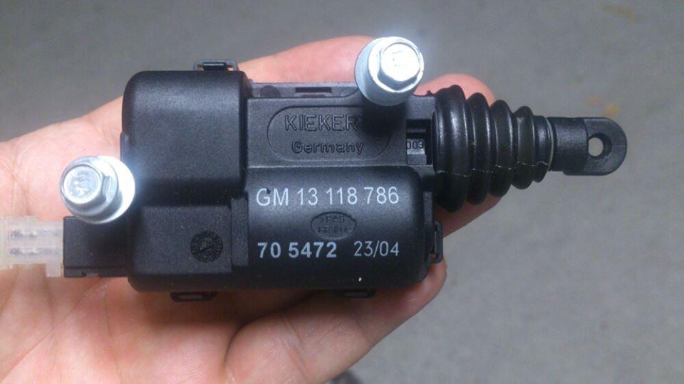 13118786, Motor, locking, trunk lid GM part