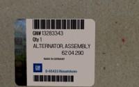 13283343 genuine OEM part.