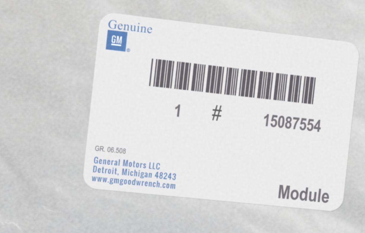15087554, Module GM part