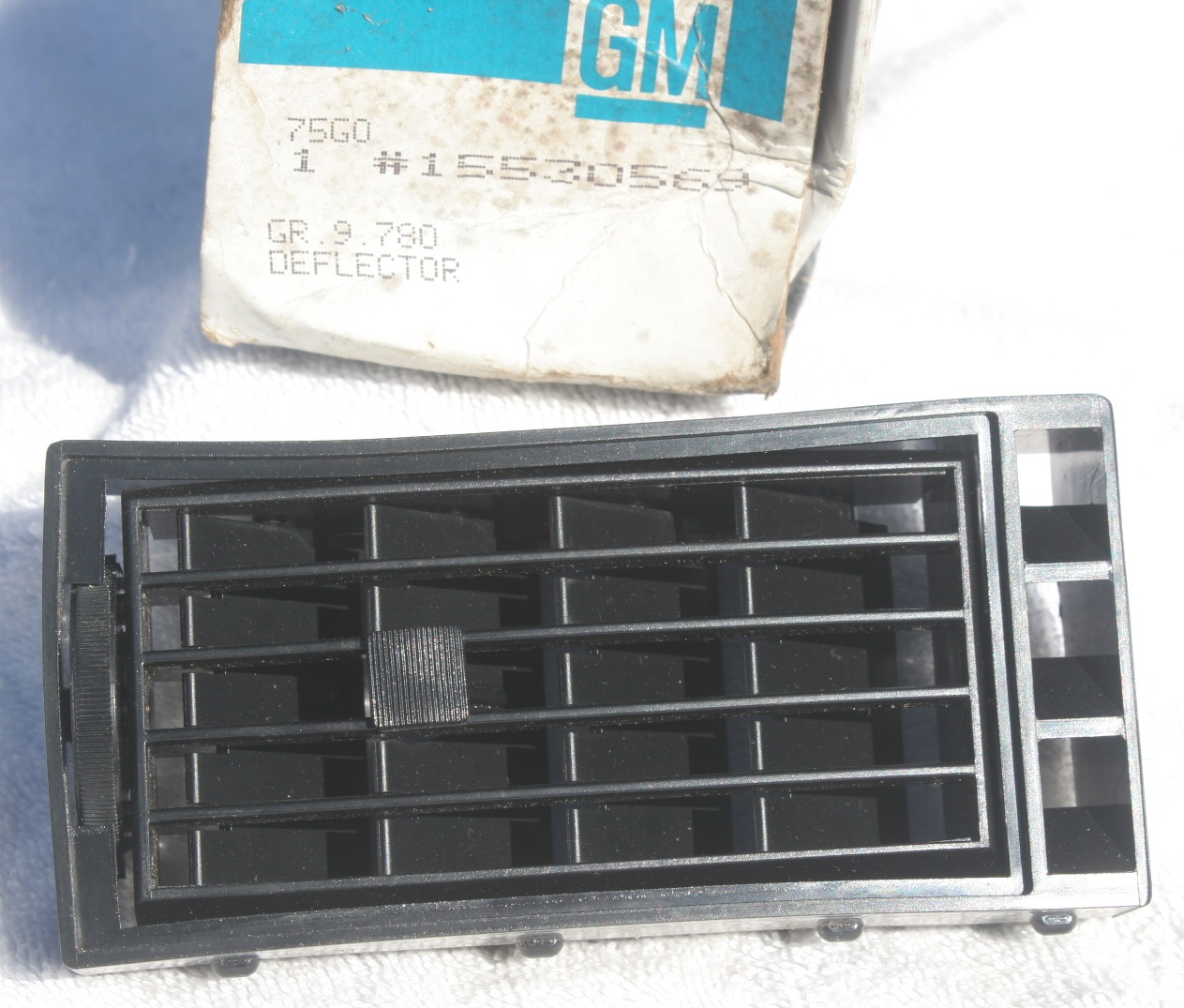 15530569, Deflector GM part