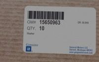 15650963 genuine OEM part.