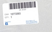 15772593 genuine OEM part.