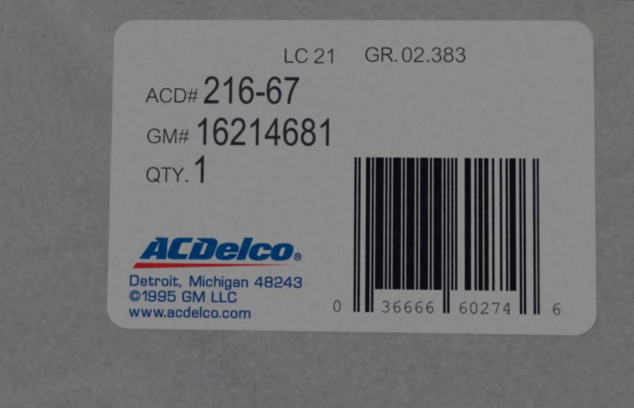 16214681, Module GM part