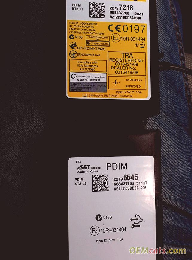 22797218, Module GM part