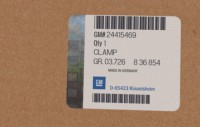 24415469 genuine OEM part.