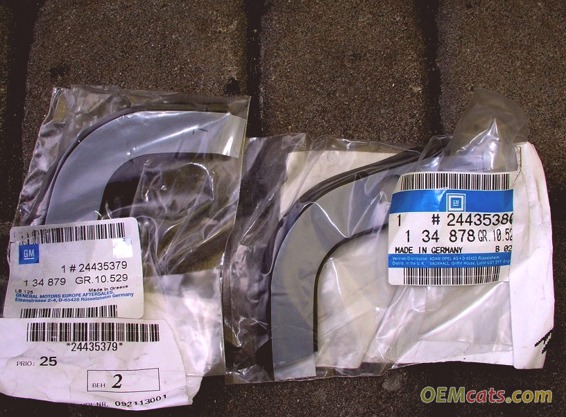24435380, Strip, sealing, right hand GM part