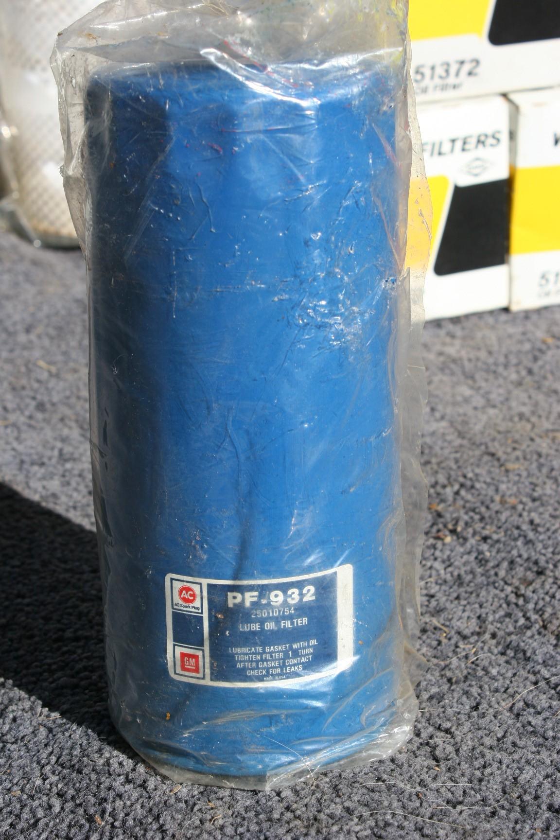 25010754, Filter GM part