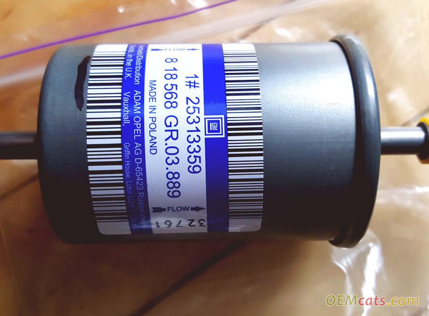 25313359, Filter, assembly, fuel GM part
