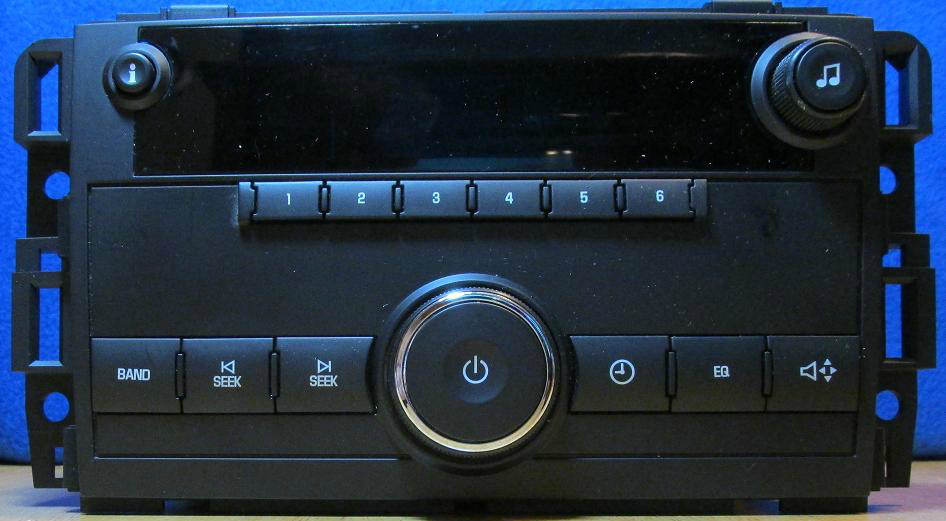 25942014, Radio GM part
