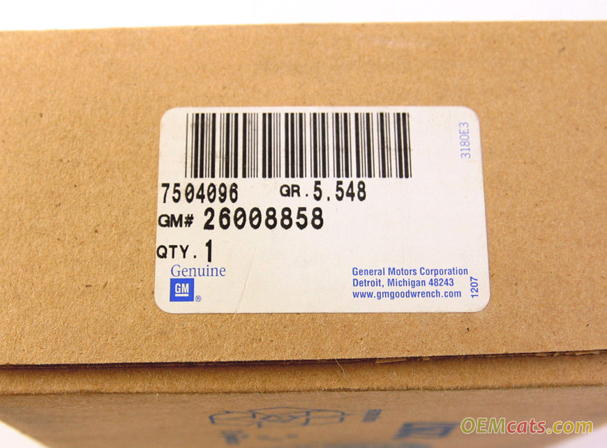 26008858, Joint kit GM part