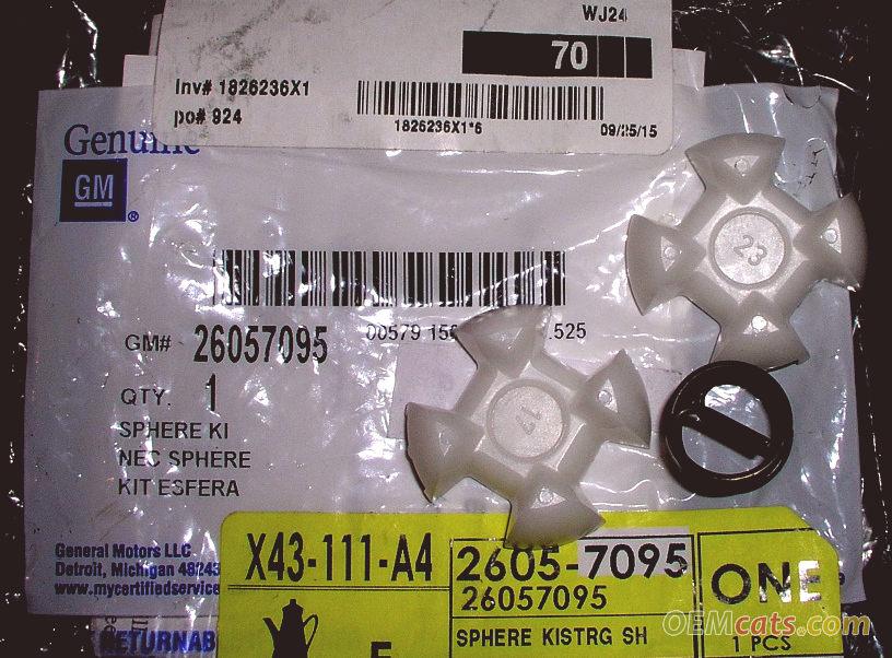 26057095, Sphere kit GM part
