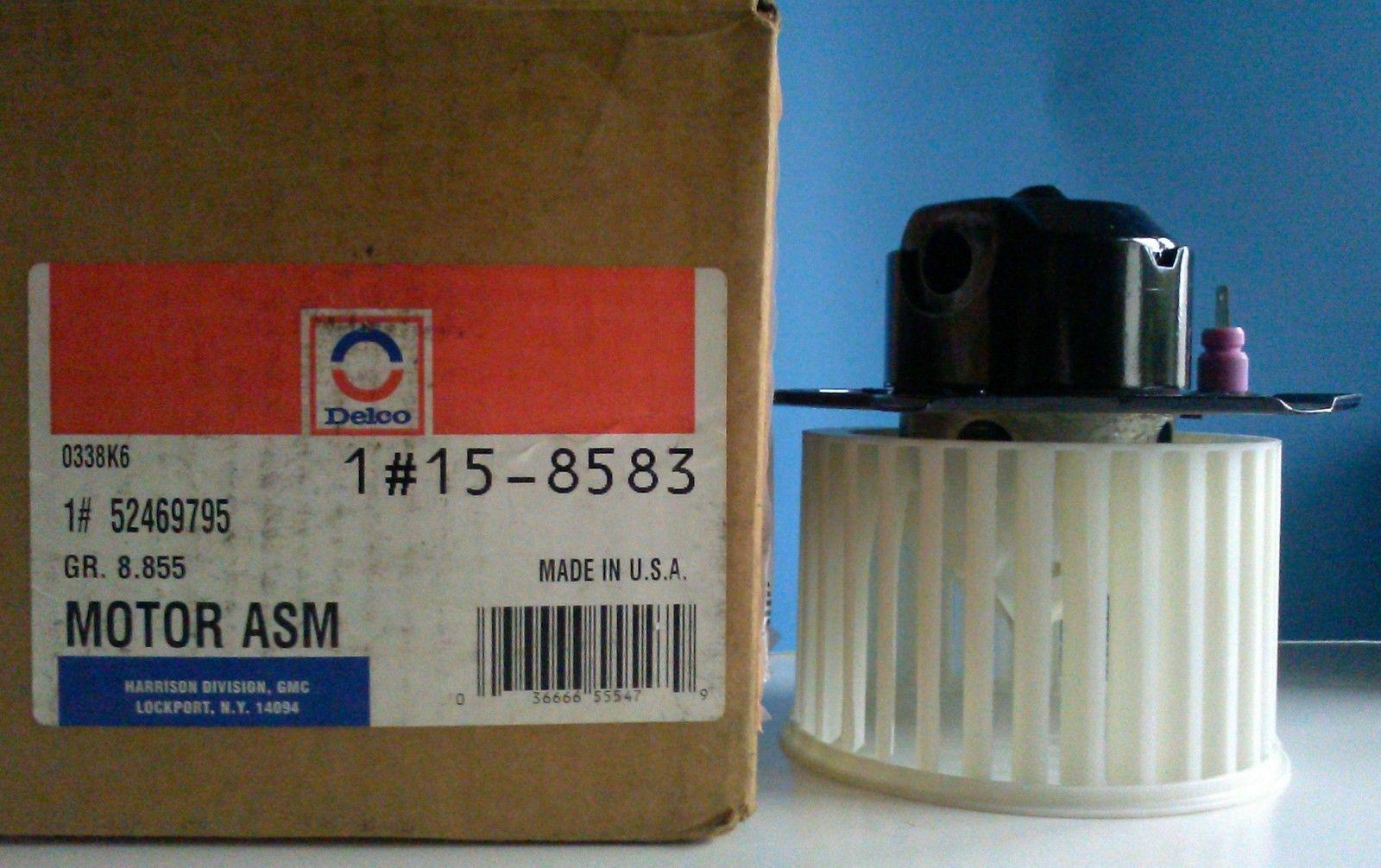 52469795, Blower motor GM part