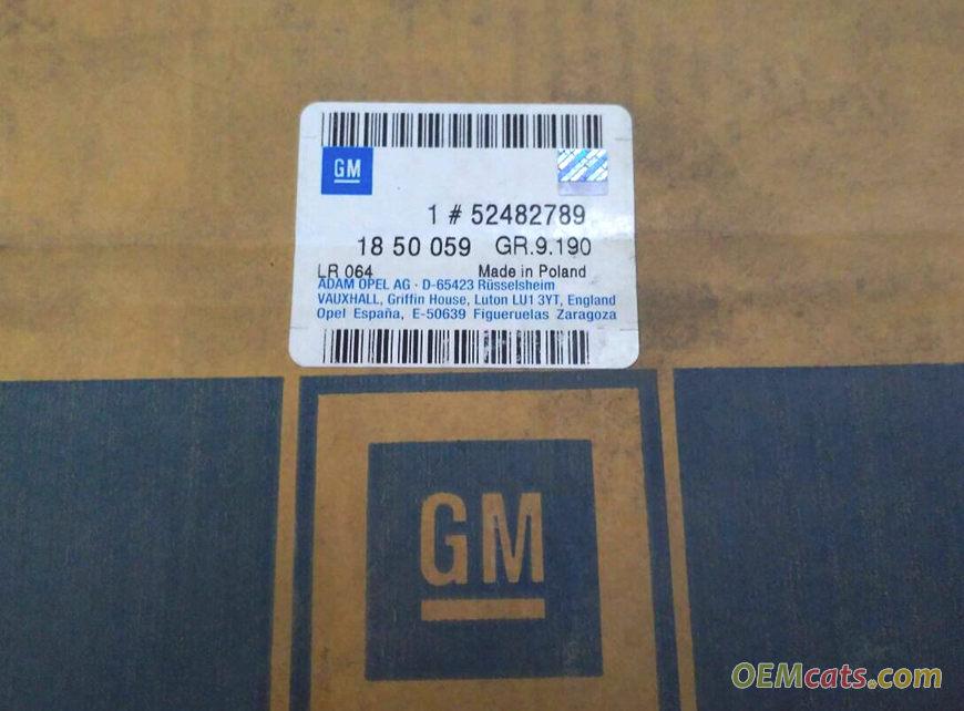 52482789, Condenser GM part