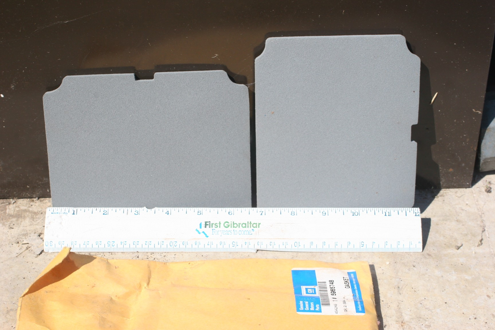 5965748, Lens gasket GM part