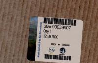 90039907 genuine OEM part.