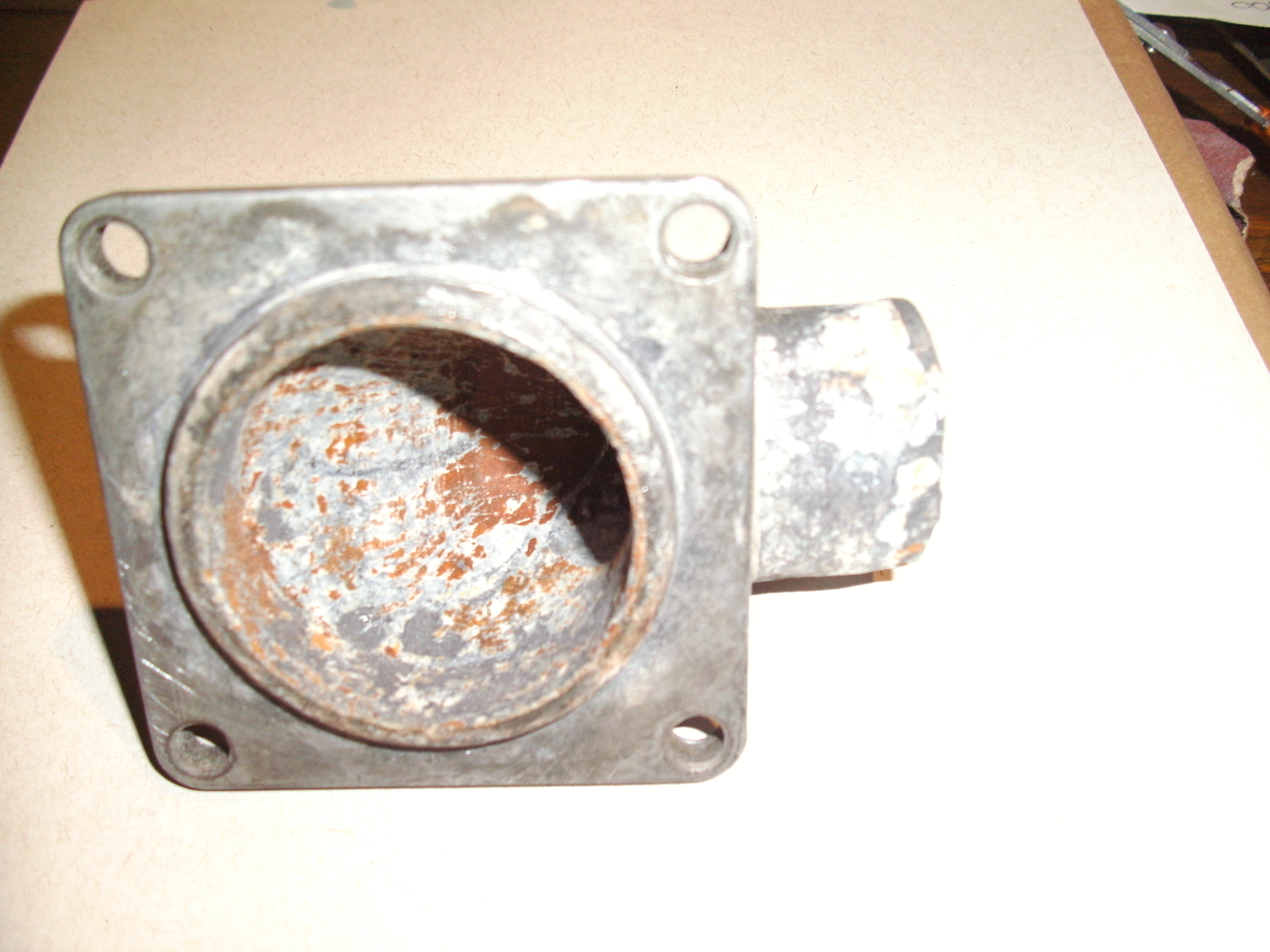 90080429, Flange, water outlet GM part