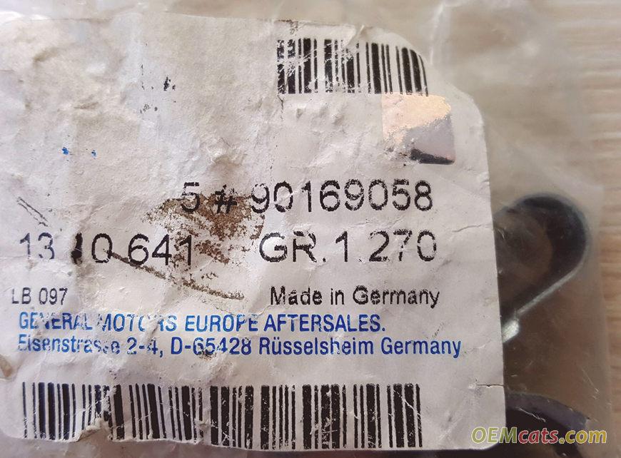 90169058, Retainer GM part