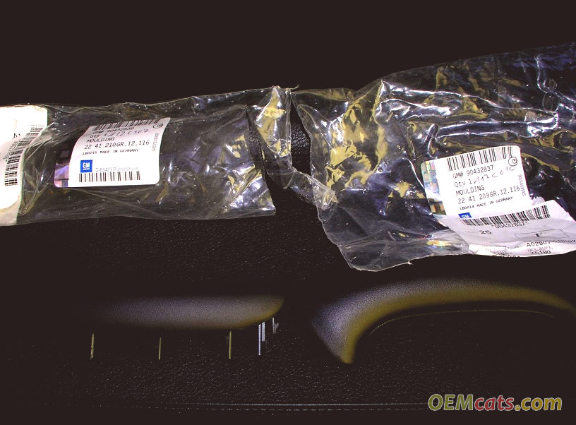 90432837, Molding GM part