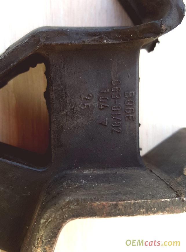 90447547, Block, damper, rear mounting GM part