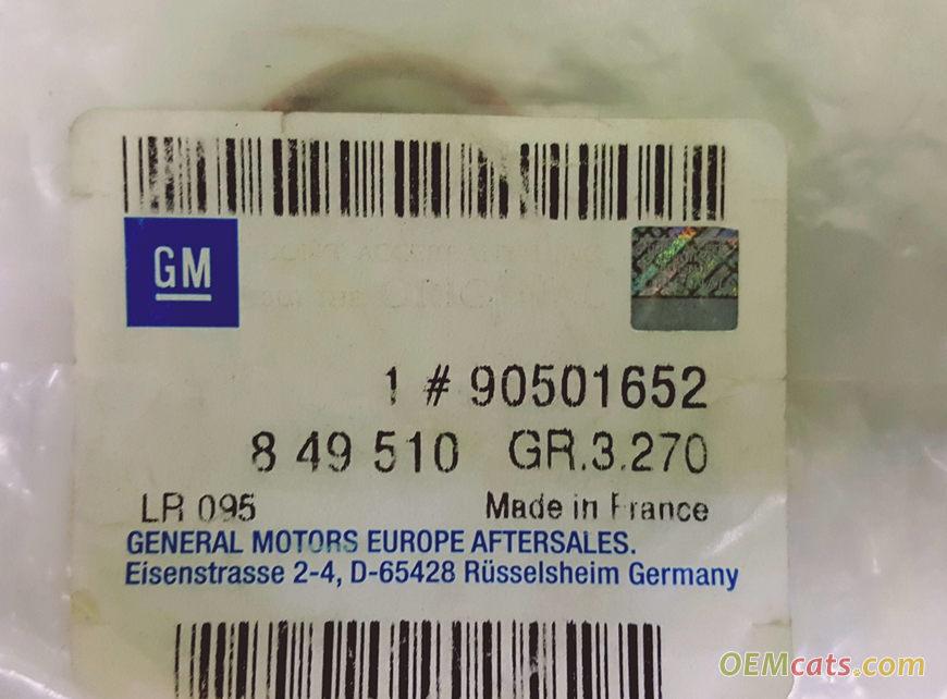 90501652, Gasket GM part