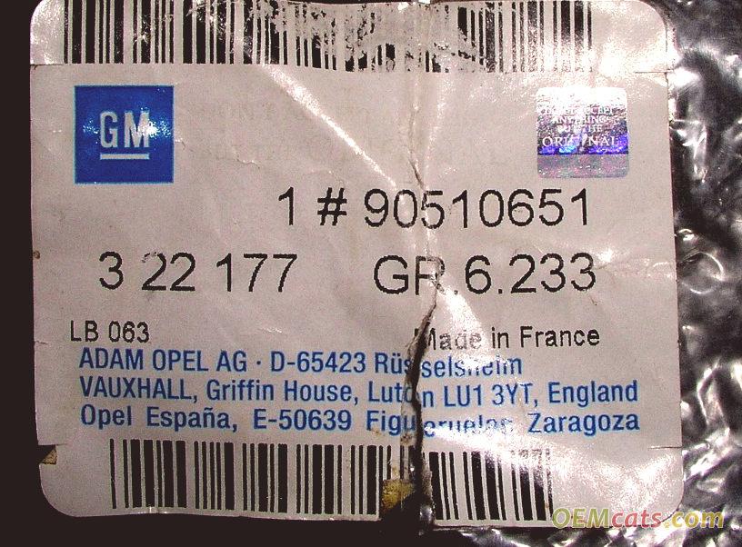 90510651, End GM part