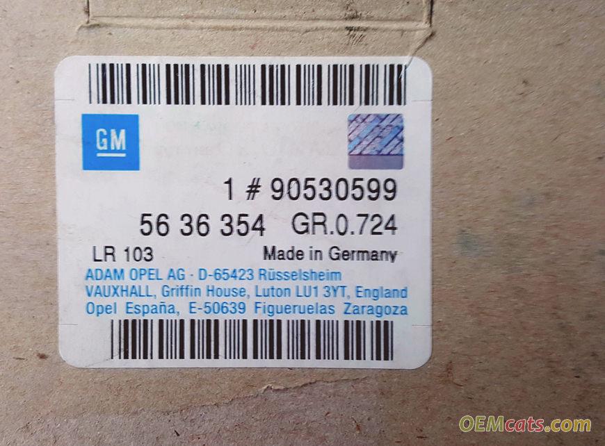 90530599, Belt, timing GM part