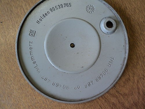 90539765, Cover, wheel hub GM part