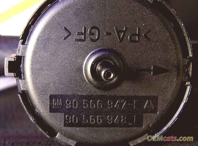 90566948, Valve, heater, water inlet hose GM part