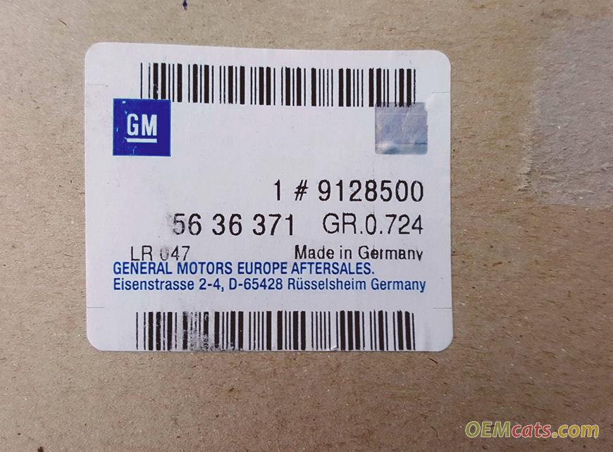 9128500, Belt, timing GM part