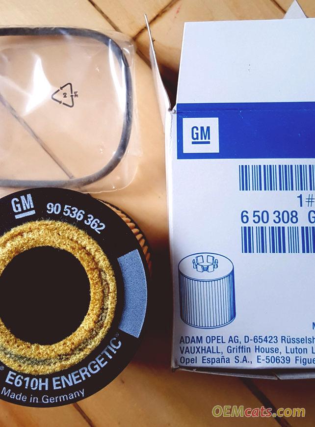 9192426, Element, oil filter GM part