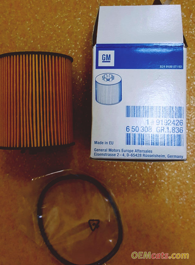 9192426, Element, oil filter GM part