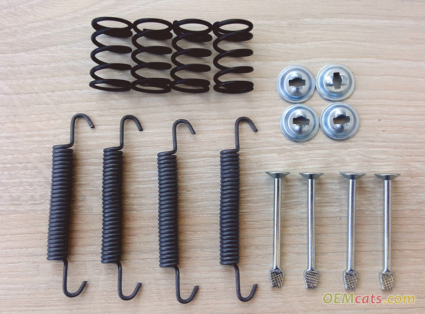 93174289, Spring set, shoe GM part