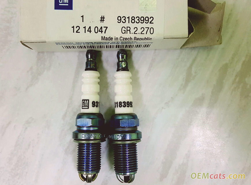 93183992, Plug, assembly, spark GM part