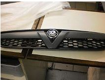 93188665, Grille, radiator, primed GM part