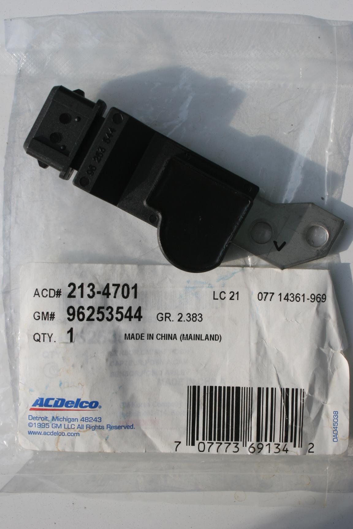 96253544, Sensor GM part